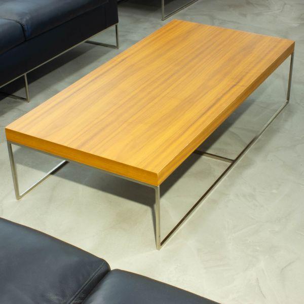 Minotti Calder Side Table - Beistelltisch Natureiche - Ausführung Breite 120 cm
