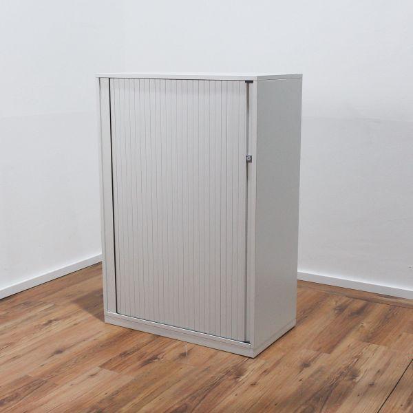 Steelcase Sideboard 3OH - Korpus weiß - Querrolladen weiß - Breite 80cm