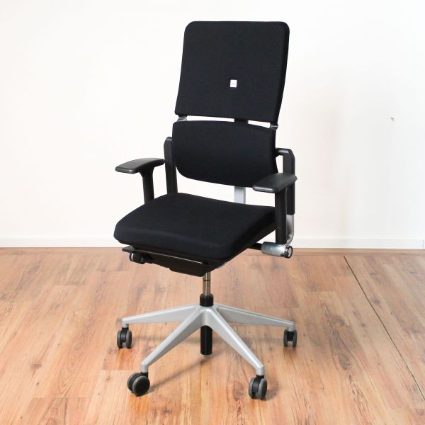 Steelcase Please Bürodrehstuhl schwarz