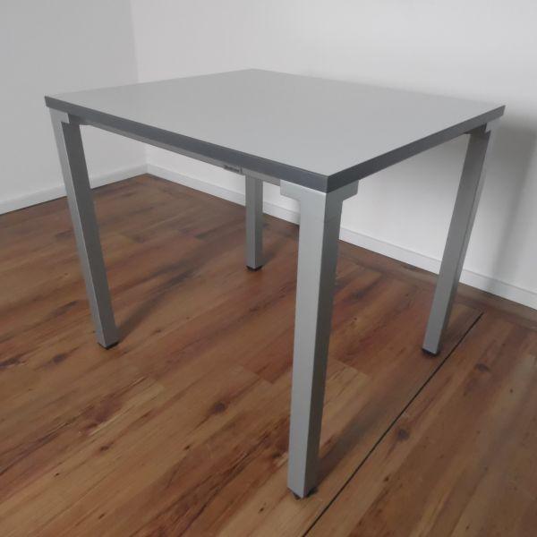 Steelcase Besprechungstisch - 80x70 cm - helles lichtgrau