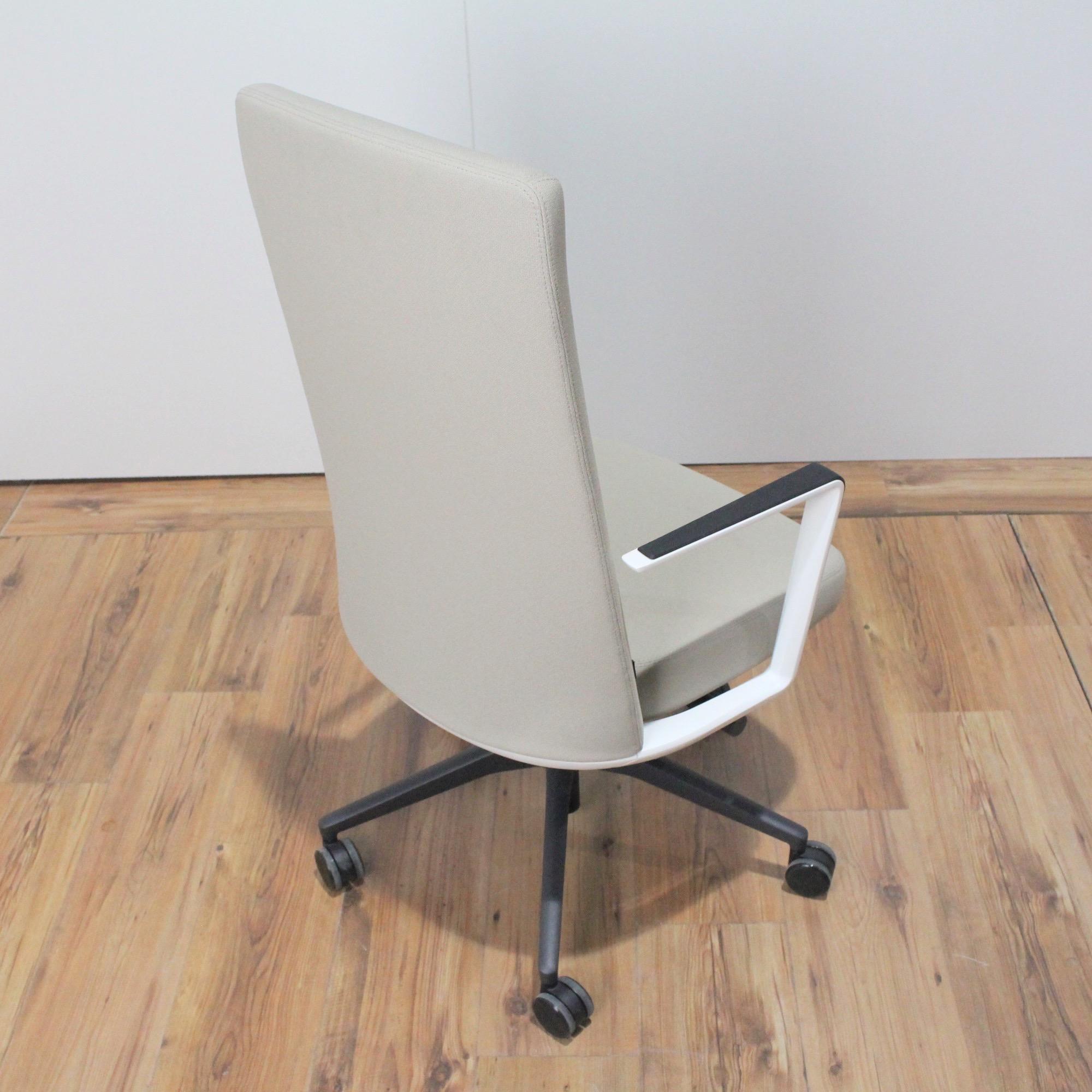 Drehstühle & -sessel Sitzmöbel Actiu Cron Bürodrehstuhl Stoff Beige Hohe Rückenlehne