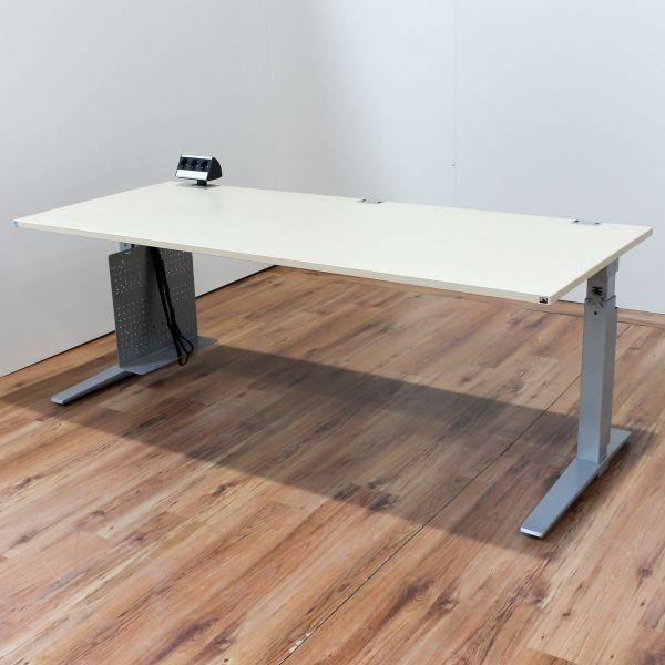 k nig neurath schreibtisch ahorn platte 200 x 80 cm ebay. Black Bedroom Furniture Sets. Home Design Ideas