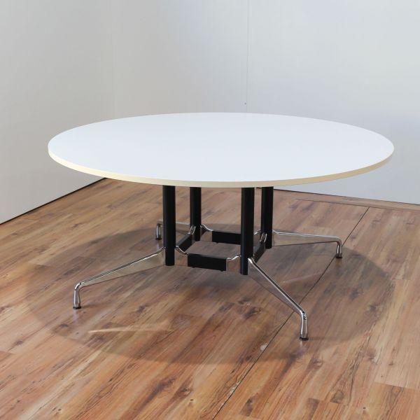 Vitra Segmented Table - Konferenztisch - 160cm - weiß