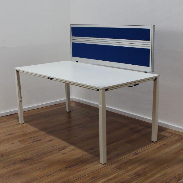 Sedus KMAT Temptation Schreibtisch 160x80cm mit Trennwand