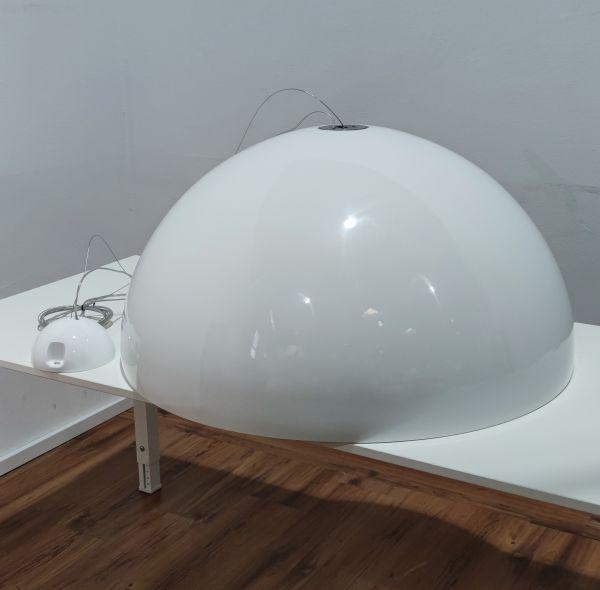 FLOS Skygarden Pendelleuchte glänzend weiß ⌀ 90 cm 230W