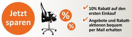 Sparen Sie 10 % – jetzt zum Newsletter anmelden!