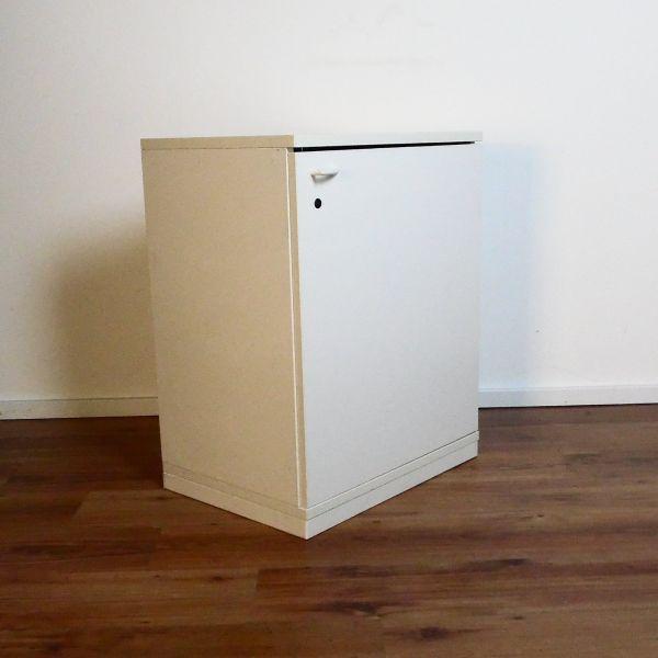 Steelcase Sideboard 2OH - Korpus weiß - Flügeltür weiß - 60cm