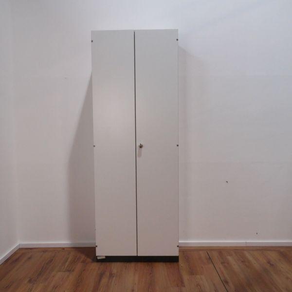 Gesika Aktenschrank 6OH weiß mit Flügeltüren