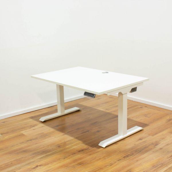 Schreibtisch E-Beam - Platte 160x80cm weiß - elektrisch höhenverstellbar NEUWARE