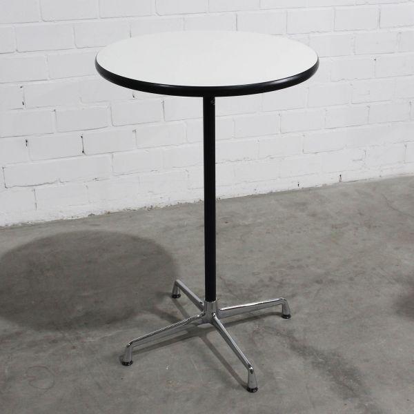 Vitra Eames Table Stehtisch Platte Weiß Ø 70 cm