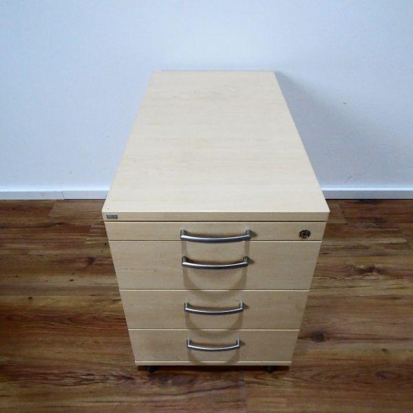 Sedus Rollcontainer 4 Laden - Korpus ahorn - Deckplatte ahorn