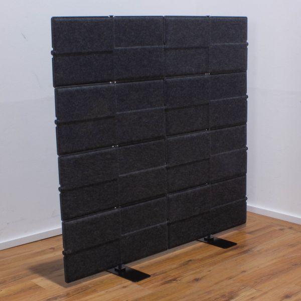 "USM Haller ""Privacy Panel"" Akustikwand - anthazitgrau - 140 x 150 cm"