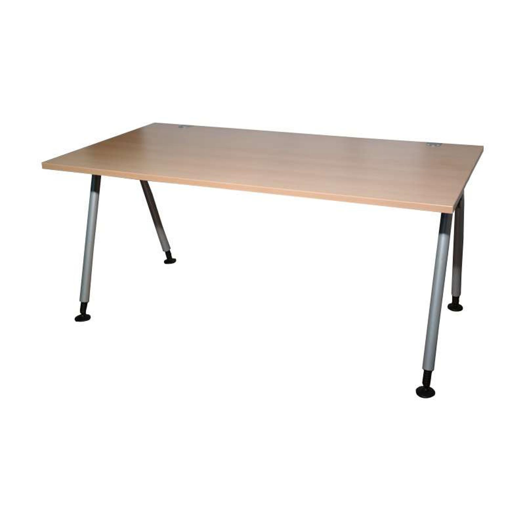 König Neurath Unos Schreibtisch Buche 160x80cm Schreibtisch