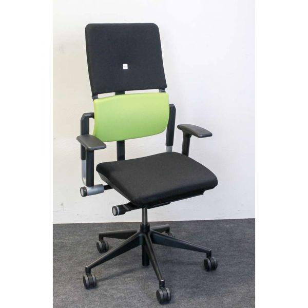 Steelcase Please Bürodrehstuhl Bezug Stoff apfelgrün