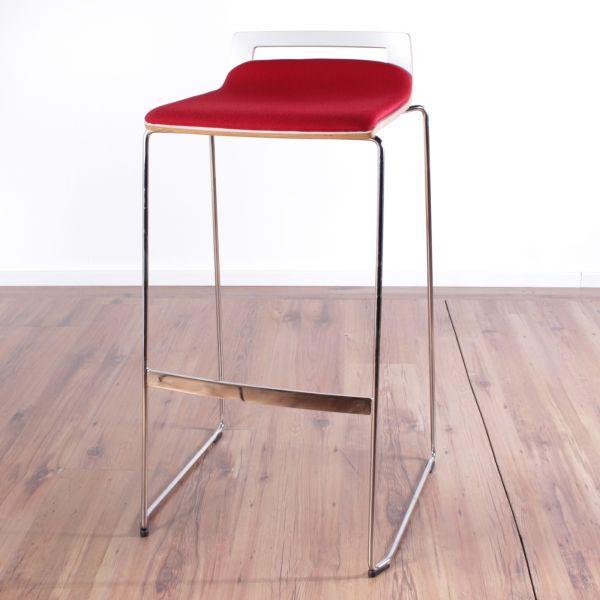 """Sedus Hocker """"Meet Chair"""" - Stoff in rot"""