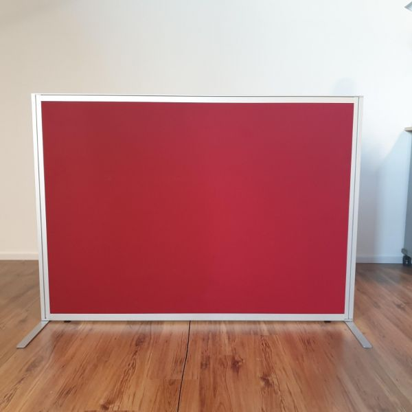 Steelcase Trennwand - Rot - 160x115 cm