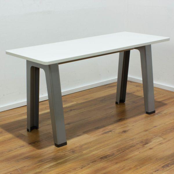 Steelcase B-Free Besuchertisch Tischplatte weiß