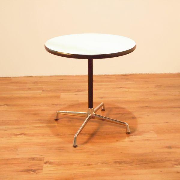 Vitra Eames Table Besuchertisch Platte Weiß Ø 70 cm