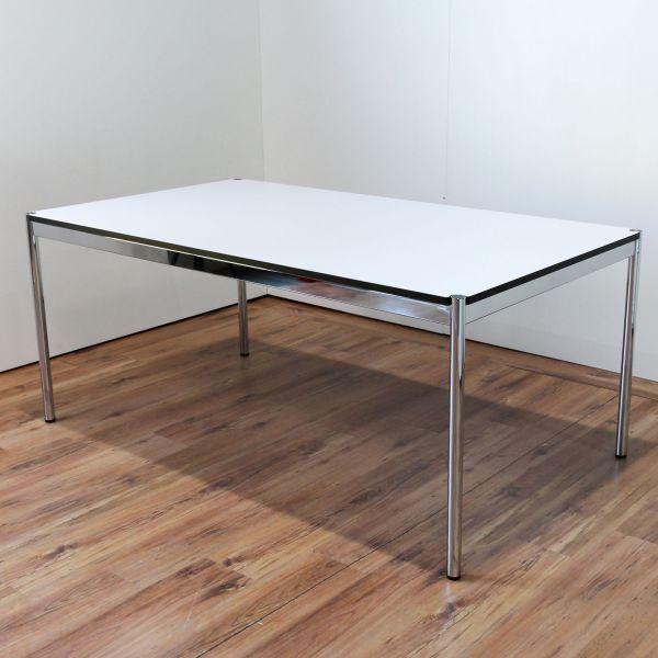 USM Haller Schreibtisch 175 x100cm perlgrau