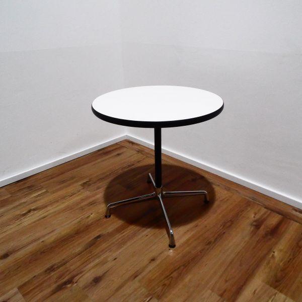 Vitra Segmented Table Konferenztisch weiß Ø 70 cm