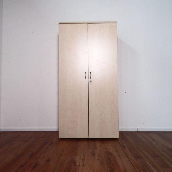 Garderobenschrank Basic - Flügeltüren ahorn