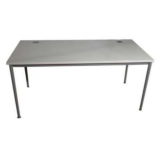 VS Schreibtisch Platte Lichtgrau 160 x 80 cm