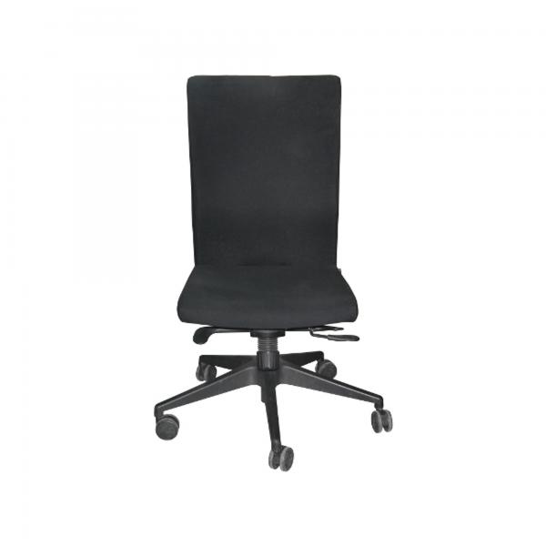 ProfiM 115 Bürodrehstuhl Bezug Stoff schwarz Gestell schwarz ohne Armlehnen