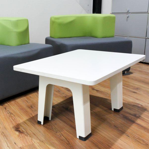 Steelcase Sofa-Beisteltisch Weiß