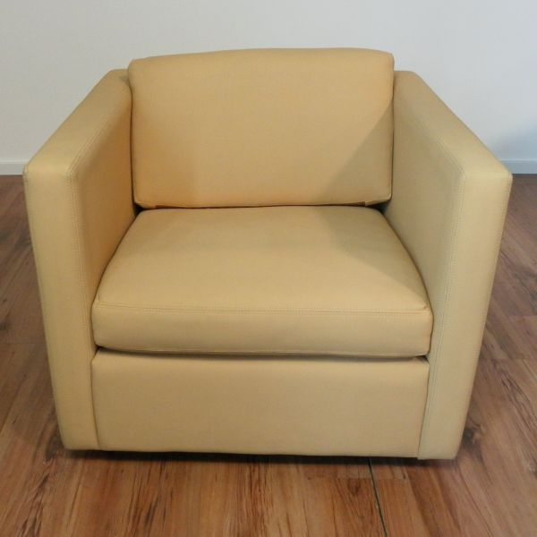 Walter Knoll Sessel - Leder in beige