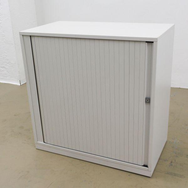 Steelcase Sideboard 2OH Querrollladen weiß