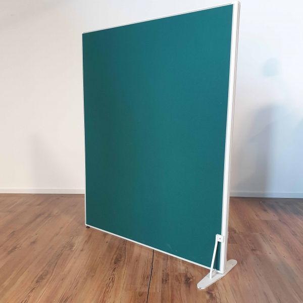 Steelcase Trennwand - Grün - B 100 x H 150 cm