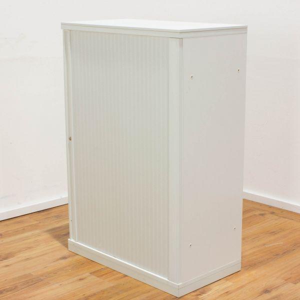 Sideboard 3OH - Korpus weiß - Querrolladen weiß