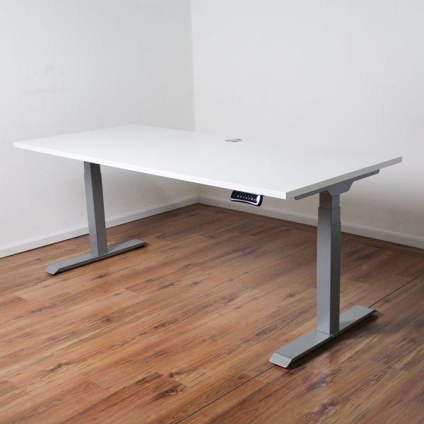 Schreibtisch E-Beam 180x80cm elektrisch höhenverstellbar NEUWARE