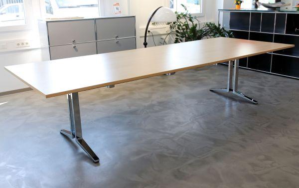 König & Neurath Agenda 2 Konferenztisch Platte Eiche hell 320 x 120 cm
