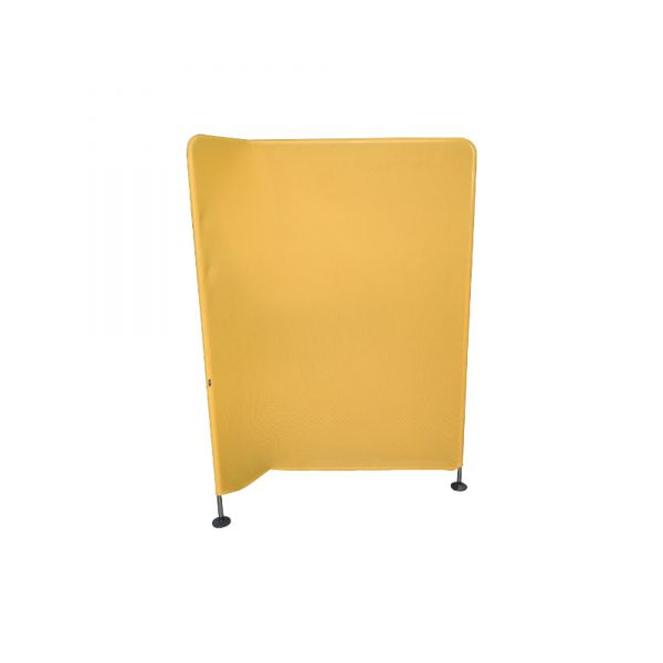 Vitra Mesh Trennwand gelb Winkel nach links