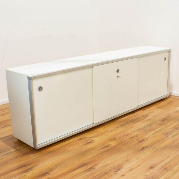 Sedus Sideboard 2OH weiß - Breite 240 cm