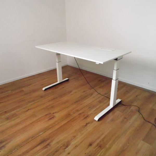 """Sedus E-Schreibtisch """"Temptation C"""" - 160x80cm in weiß - Gestell C-Fuß weiß - Aktionsartikel"""